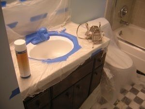 How To Refinish Porcelain Sinks Porcelain Sink Sink Painting A