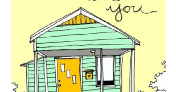 Home is With You Print Spring Green Edition. $12.00, via OReillyInk on