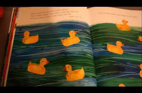 Reading Of Eric Carle S 10 Little Rubber Ducks Eric Carle Art Eric Carle Art Lessons Elementary