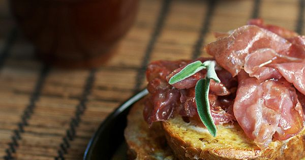 Prosciutto, Toast and French toast on Pinterest