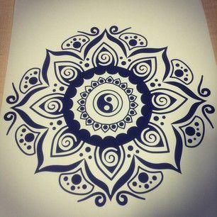 Yin Yang Mandala Illustration Yin Yang Mandala Illustration Vector Swirls Petals Sacred Tribal College Work T Mandala Tattoo Mandala Design Mandala