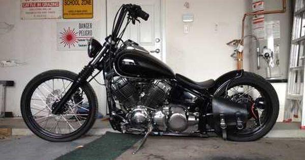 Xvs650 Bobber Chopper Bobber Motorcycle