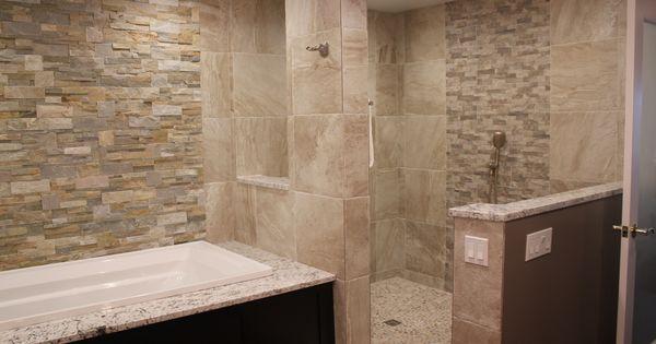 Open Shower Stall My New Bath Pinterest The O 39 Jays