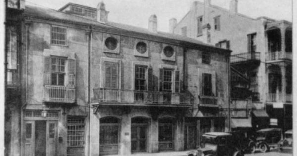 royal street french quarter new orleans louisiana 1920s source new orleans public library. Black Bedroom Furniture Sets. Home Design Ideas