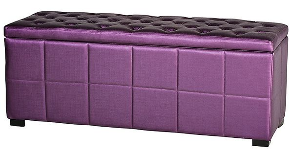 Vienna storage bench purple for the home pinterest storage benches and storage Purple storage bench