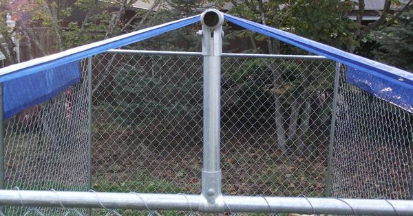 Make Your Own Dyi Dog Kennel Roof Cover Kennel Cover