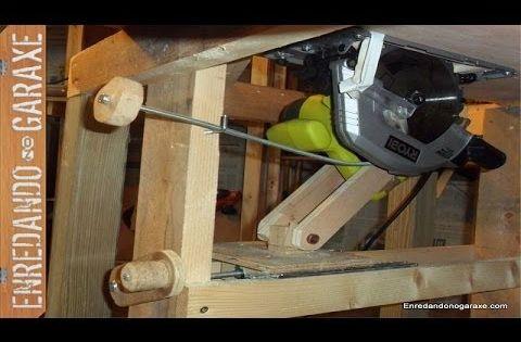 Sistema de elevaci n para sierra de mesa sierra de mesa sierra y sierra de banco - Sierra circular de mesa barata ...