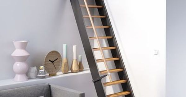 escalier gain de place venise en bois lapeyre innenr ume pinterest stair art loft. Black Bedroom Furniture Sets. Home Design Ideas