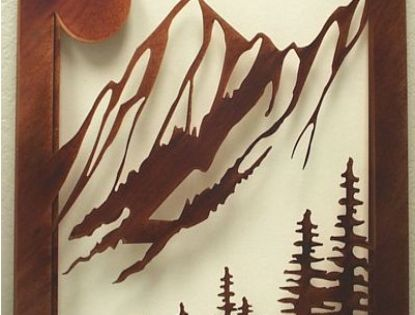 Mountain art and art on pinterest for Cabela s tackle craft catalog
