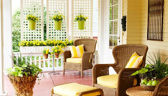 lattice for front porch ideas