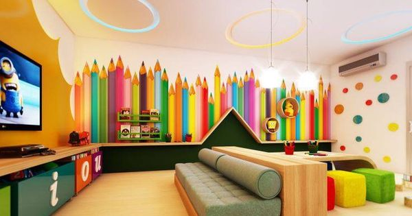 1000 Images About Ideas Para El Consultorio On Pinterest: Decoración Bibliotecas Infantiles