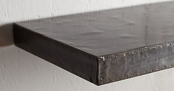 Zinc Floating Shelf Shelves Colors And Chairs