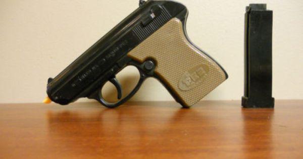 RARE Vintage 1960s Pez Shooter Walther PPK Brown Black No ...