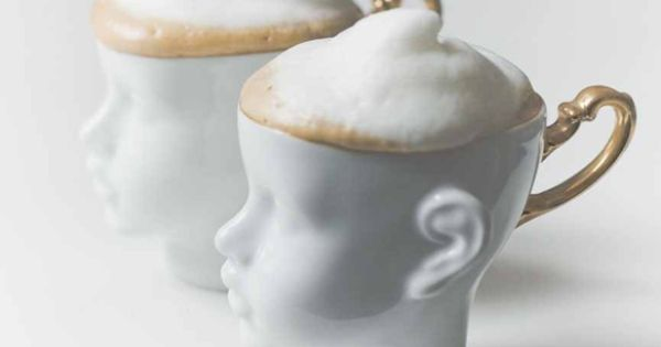 PORCELAIN HEAD CUP SET by endesign ceramic porcelain tableware design cups