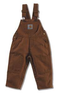 Carhartt Kids CM8609 Washed Duck Bib Overall Boys