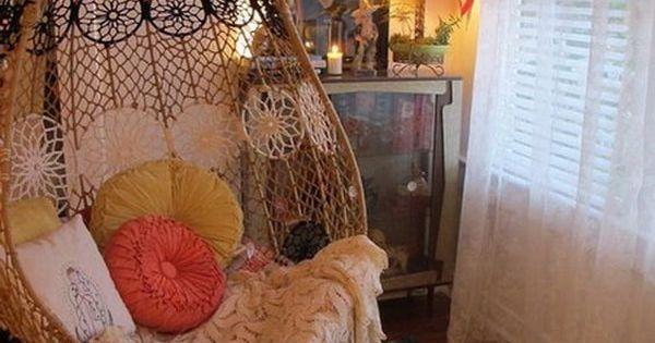 Sillas colgantes en interiores y exteriores sillas - Sillas colgantes interior ...