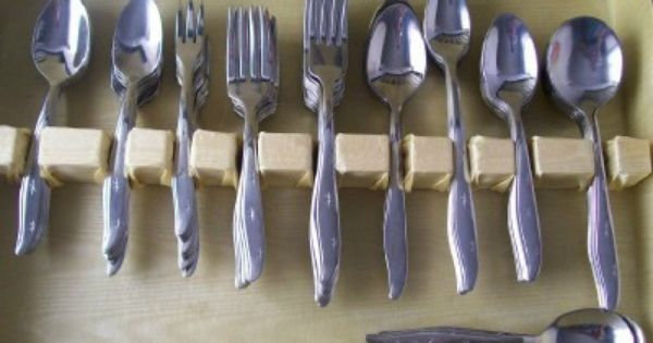 Mid century modern vintage flatware atomic starburst pattern mar crest 106 piece stainless steel - Almoco flatware ...