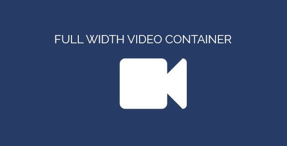 Download Free Full Width Video Container Adobe Muse Widget Video Background Video Muse Widgets Adobe Muse Web Design