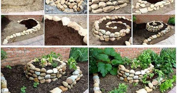 Jardim pequeno com pedras pesquisa google jardinagem pinterest jardins pequenos jardins - Como decorar macetas con piedras ...