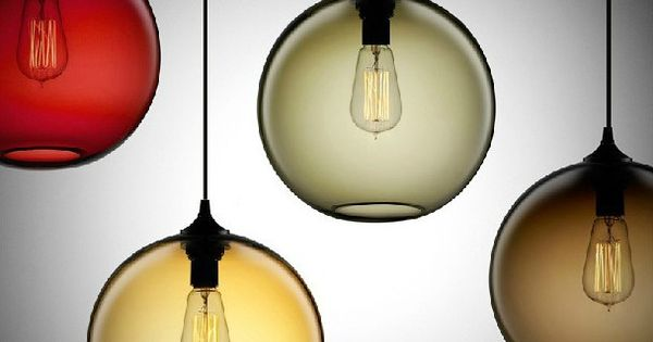 moderne minimalistische artistieke creativiteit slaapkamer lamp glazen ...