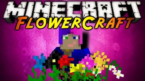 Flowercraft Mod 1 8 9 1 7 10 1 7 2 Minecraft 1 9 1 8 1 7 10 Minecraft Mods Minecraft Flower Hedge