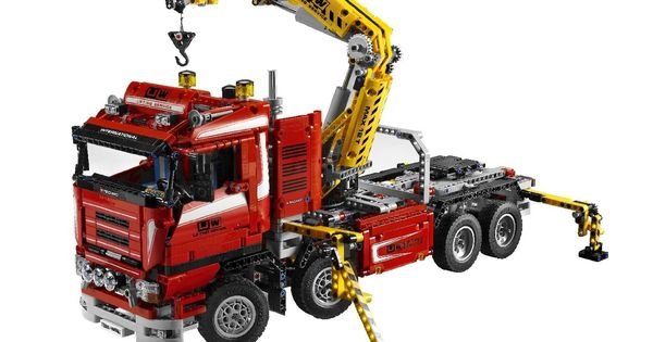 lego technic 8258 truck mit power schwenkkran see more at. Black Bedroom Furniture Sets. Home Design Ideas