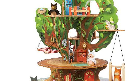 Imaginarium forest friends treehouse toys r us toys r for Magic cabin tree fort kit