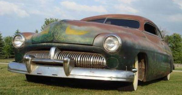 1950 mercury 2 door coupe hot rod rat rod custom scta led for 1950 mercury 2 door coupe