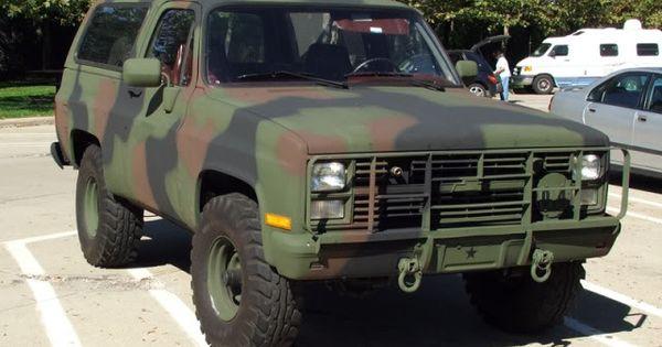 M1009 Blazer for Sale | New Toy - '84 M1009 CUCV Blazer ...