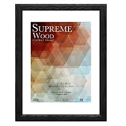 Timeless Frames Supreme Picture Frame 12 X 16 Black Frames On Wall Wood Picture Frames Picture On Wood