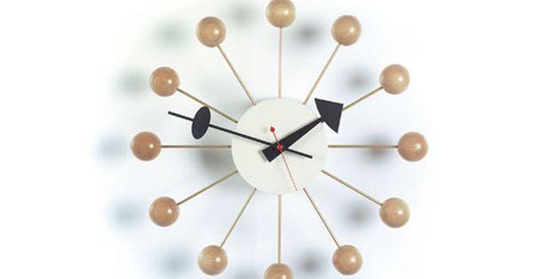 Products Wall Clocks Nelson Ball Clock Nelson Clock Clock Design