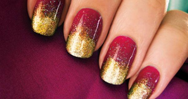 Effie Trinket Nail Art (The Hunger Games) nailart nails bestnails expensivenails