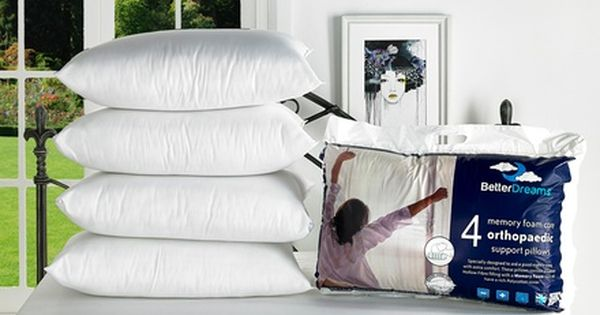 Better Dreams Memory Foam Core Pillow