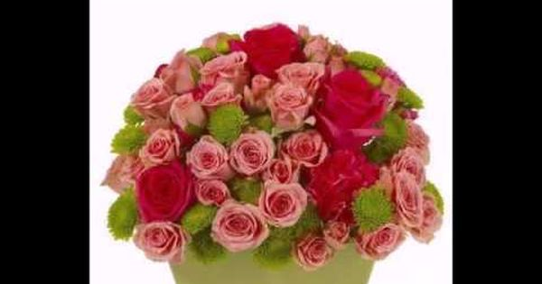Wish A Nice Morning To Friend With Lyrics Flower Delivery Online Flower Delivery Pink Wedding Arrangements