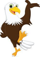 Cute Cartoon Eagle : cartoon, eagle, Eagle, Cartoon, Image, Adobe, Stock, Cartoon,, Drawings,