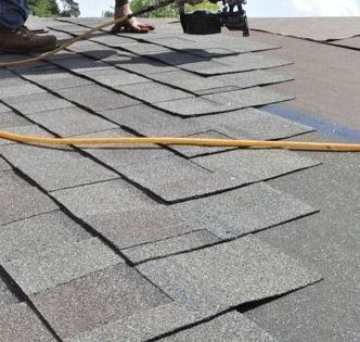 A Couple Of Weeks Ago We Published A Two Part Series Showing How A Local Roofing Contractor Shingled A Roof Roof Repair Roof Repair Diy Architectural Shingles