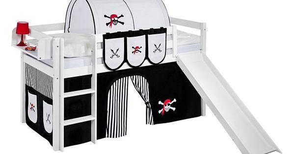 Etagenbett Lilokids : Spielbett jelle pirat schwarz hochbett lilokids mit rutsche