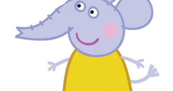 Peppa pig cartone animato famiglia di emily