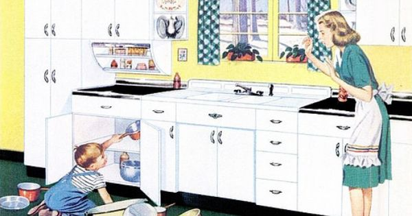 Youngstown Kitchens 1947 My Very Favorite Domestic Goddesses Pinterest Kitchens