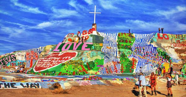 Salvation Mountain, California | 14 Items On The Ultimate American Summer Bucket