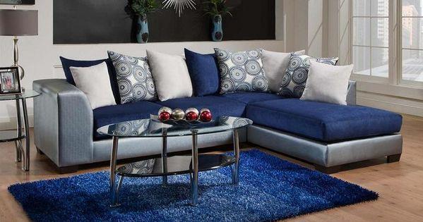 Classy Of Royal Blue Living Room 835 06 Royal Blue Living Room Only 57995 Living Room Furnit Blue Living Room Decor Blue Furniture Living Room Blue Living Room