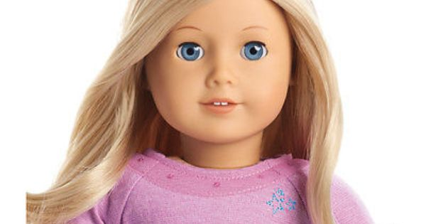 American Girl Truly Me Doll Light Skin Blond Hair Blue Eyes 22