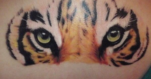 Tiger Tattoo, Eyes Tattoo, Animal Tattoo