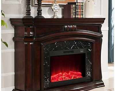 62 Grand Cherry Electric Fireplace At Big Lots Big Lots Big