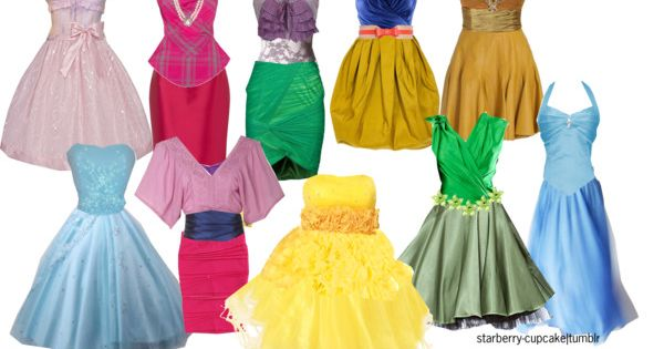 Disney Princess Bridesmaid Dresses ;)