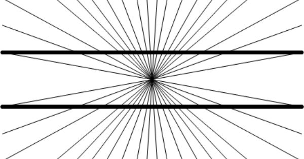 Line Optical Designjet : Parallel lines optical illusion b w pinterest