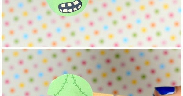 clothespin zombie puppet craft clothespin puppet craft crafts for 3666