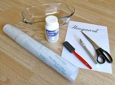 Great Tutorial For Diy Etching Using Contact Paper To Make Your Own Stencils Glass Etching Diy Glass Etching Tutorial Etching Diy
