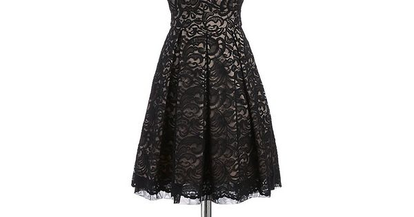 lace fit and flare dress lord and taylor preston 39 s my