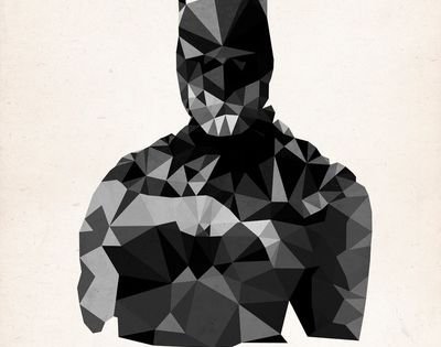 "James Reid's ""Polygon Heroes"", pop culture icons and superheroes get the 'cubism'"